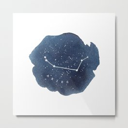 aries constellation zodiac Metal Print
