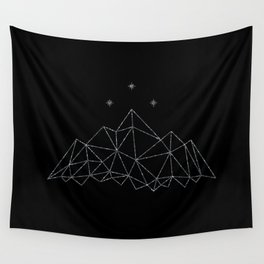 The Night Court insignia from A Court of Frost and Starlight Wall Tapestry