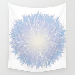 Mandala Flower || Blue Wall Tapestry