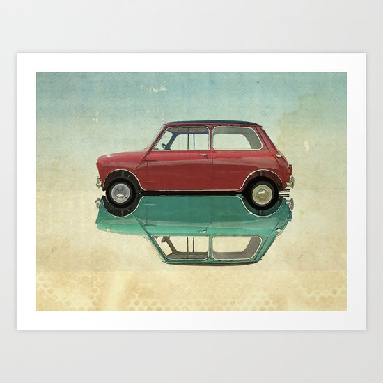 dear mini  Art Print