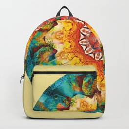 Mandalas from the Heart of Surrender 4 Backpack