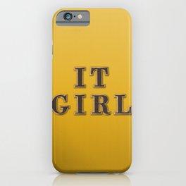 IT-Girl iPhone Case