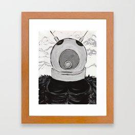 RO-MAN Framed Art Print