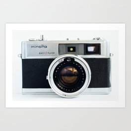 Camera III Art Print