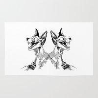 evil queen Area & Throw Rugs featuring evil queen by vasodelirium