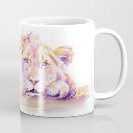 Lion _ Too hot to hunt Coffee Mug