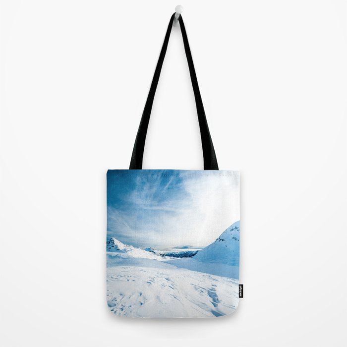 Mountain ice 2 Tote Bag