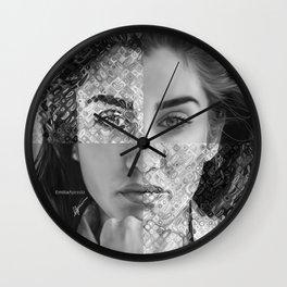 Lauren Jauregui Digital Painting Wall Clock