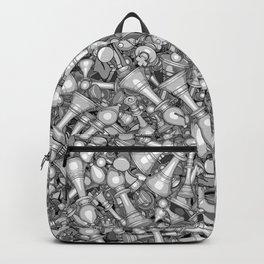 Blitz Chess B&W Backpack