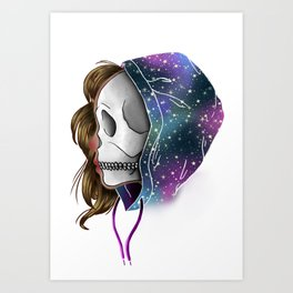 Chilled to the Bone Art Print