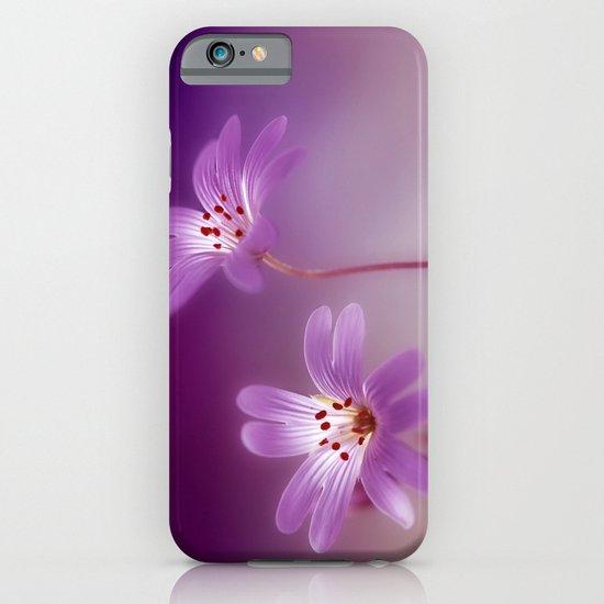 Purple Stitches iPhone & iPod Case