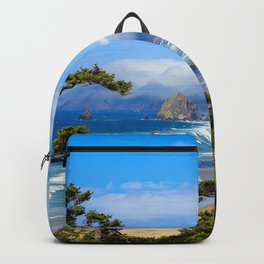 Photo USA Haystack Rock, Cannon Beach, Oregon, Pac Backpack