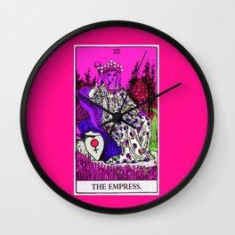 3. The Empress- Neon Dreams Tarot Wall Clock