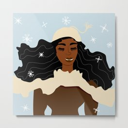Magical Winter Metal Print