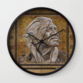Billie Joe Shaver Wall Clock