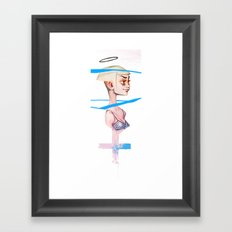 Holy Framed Art Print