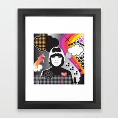 Mojo Girl Framed Art Print