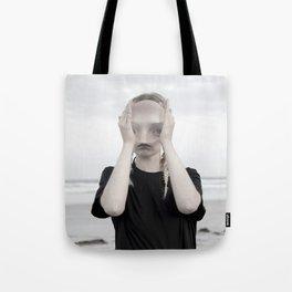 9594 alien .. strange gothic erotic photography dark magnification  surreal  Tote Bag