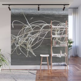 Withered peony Wall Mural