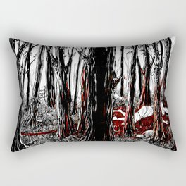 Orpheus and Eurydice - The death of Eurydice Rectangular Pillow