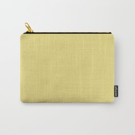 Flax - solid color Carry-All Pouch