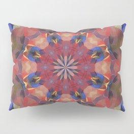 Mulicolored Geo Rainbow Kaleidoscope Pillow Sham