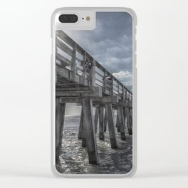 Sun and Fun in Naples Clear iPhone Case