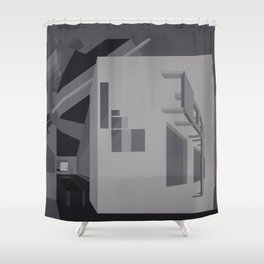 Violet Pills Shower Curtain