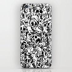 Bunnies & Skulls iPhone & iPod Skin