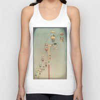 1975 Tank Tops featuring 1975 Ride by Maite Pons