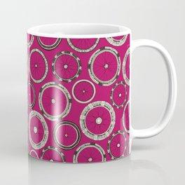 bike wheels pink Coffee Mug