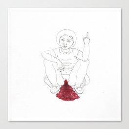 period angst Canvas Print