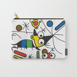Ooh Zoo – art-series, Miro Carry-All Pouch