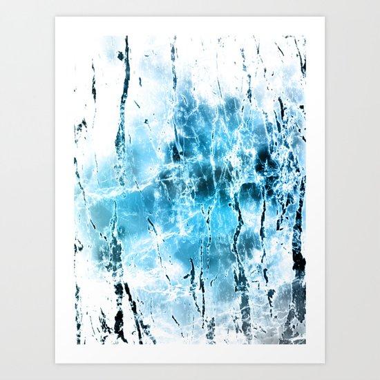 Diamond Dust Art Print