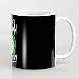 Easy Peasy Lemon Squeezy Lemon Saying Coffee Mug