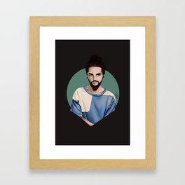 Tom Kaulitz  Framed Art Print