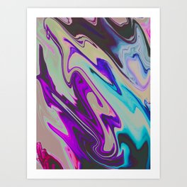 Tear Blinded Eyes Art Print