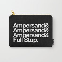 Ampersand & Full Stop Carry-All Pouch