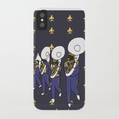 Mardi Gras - I Came for the Bands! iPhone X Slim Case