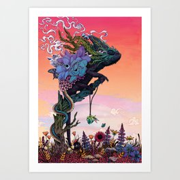 Phantasmagoria Art Print