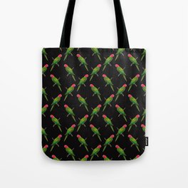 Parrot Pattern Tote Bag