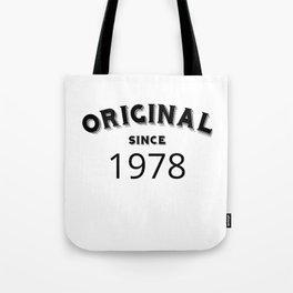 ORIGINAL | 1978 Birthday Shirt Tote Bag
