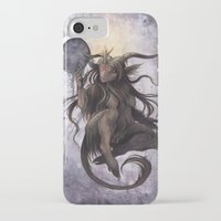 baphomet iPhone & iPod Cases featuring Baphomet by Savannah Horrocks
