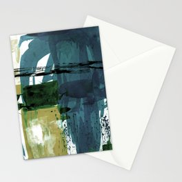 Teal Splendor No.1s by Kathy Morton Stanion Stationery Cards