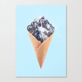 ICE CREAM MOUNTAIN Canvas Print