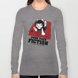 Purr Purr Fiction Long Sleeve T-shirt