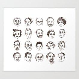 Portraits Art Print