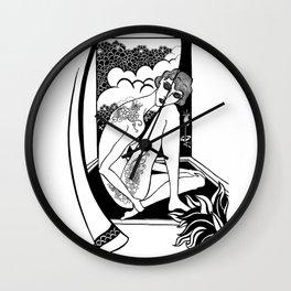 Dreaming of Beardsley Wall Clock