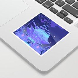 Blue Daydream Sticker