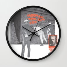 For What It's Worth Wall Clock
